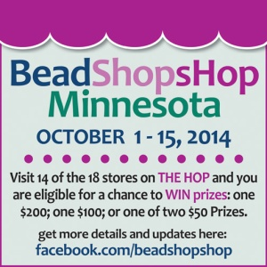 Bead Shop Hop Event Logo